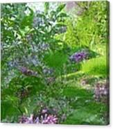 Lilac In The Air Canvas Print