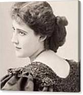 Lily Hanbury (1874-1908) Canvas Print