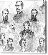 Lincoln Assassins Trial Canvas Print