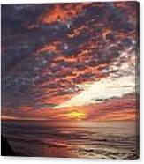 Lincoln City Sunset Canvas Print
