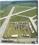 Lincoln Il Airport Canvas Print