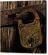 Lincoln Lock Canvas Print
