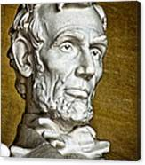 Lincoln Profle 2 Canvas Print