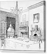 Lincoln: White House Office Canvas Print