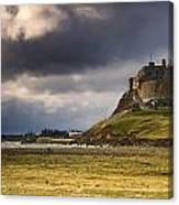 Lindisfarne Castle, Beblowe Crag Canvas Print