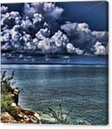 Lingering Clouds Canvas Print