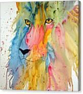 Lion Head 3 Canvas Print