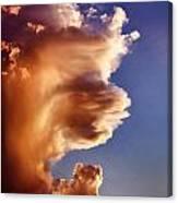 Lion King Cloud Canvas Print