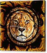 Lioness Face Canvas Print