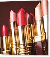 Lipstick Tubes Canvas Print