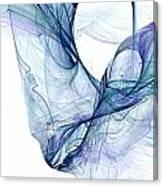Liquid Blue Canvas Print