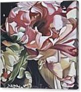 Lisianthus Canvas Print