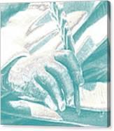 Literary Penship Canvas Print