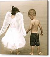Little Angels Canvas Print