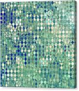 Little Blue Diamonds Canvas Print