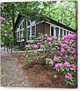 Little Brown Church In Spring Canvas Print