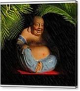 Little Buddha - 8 Canvas Print