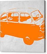 Little Bus Canvas Print