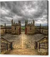 Little Castle Entrance - Bolsover Castle Canvas Print