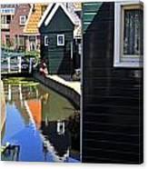 Little Dutch Houses Canvas Print