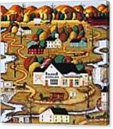 Little Falls Market Canvas Print