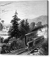 Little Falls: Railroad Canvas Print