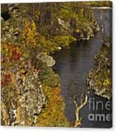 Little Gorge Canvas Print