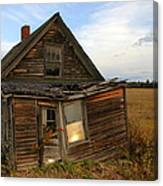 Little House On The Prarie Canvas Print
