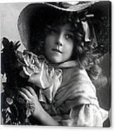 Little Lady Canvas Print