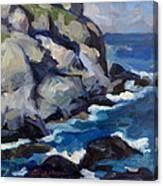 Little Maine Seascape Canvas Print