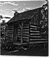 Little Old Cabin Canvas Print