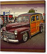 Little Old Woody Canvas Print