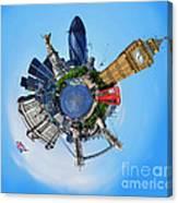Little Planet - London Canvas Print