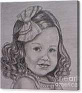 Little Priss Canvas Print