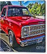 Little Red Express Hdr Canvas Print