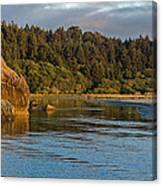 Little River Panorama Canvas Print