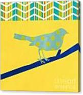 Little Song Bird Canvas Print