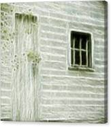 Little White Building Onaping Canvas Print
