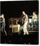 Live Concert Shot Canvas Print