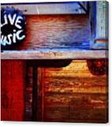 Live Music Canvas Print