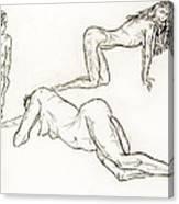 Live Nude Female No. 37 Canvas Print