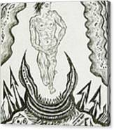 Live Nude Male No. 27 Canvas Print
