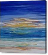 Lively Seascape Canvas Print