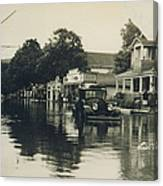 Livingston Manor - 1938 Flood Canvas Print