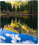 Lizard Lake Reflections Canvas Print