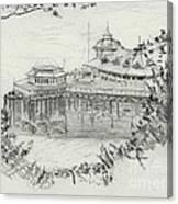 Llandudno Pier 1957 Canvas Print