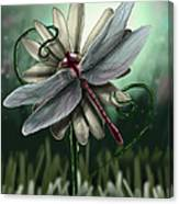 Ll's Dragonfly Canvas Print