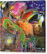 Llullu Machaco  Canvas Print