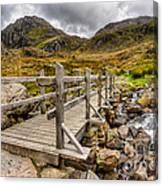 Llyn Idwal Bridge Canvas Print