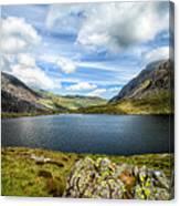 Llyn Idwal Lake Canvas Print